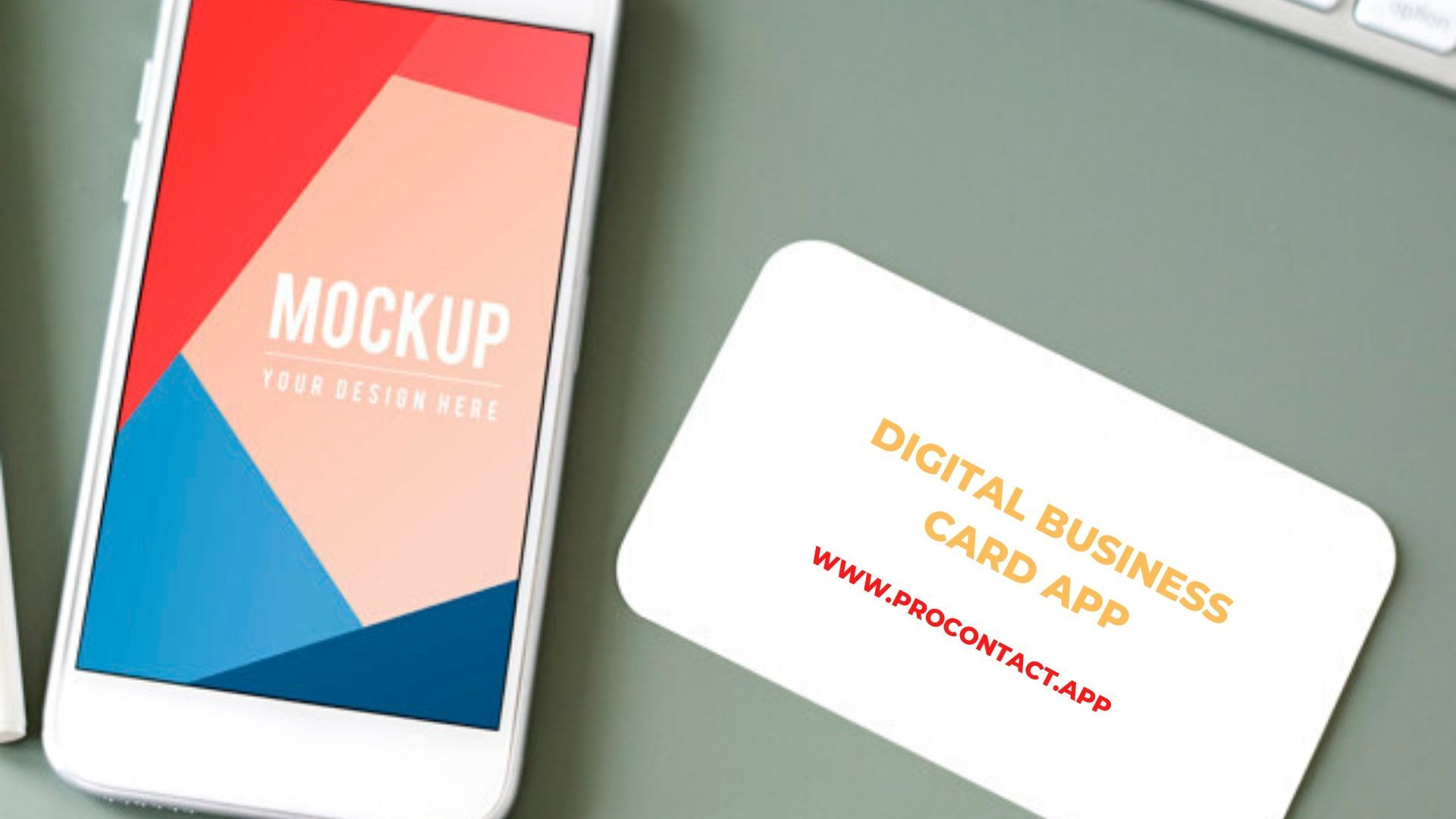 Download Procontact App And Know How To Use It Digital Business Card Business Card App App