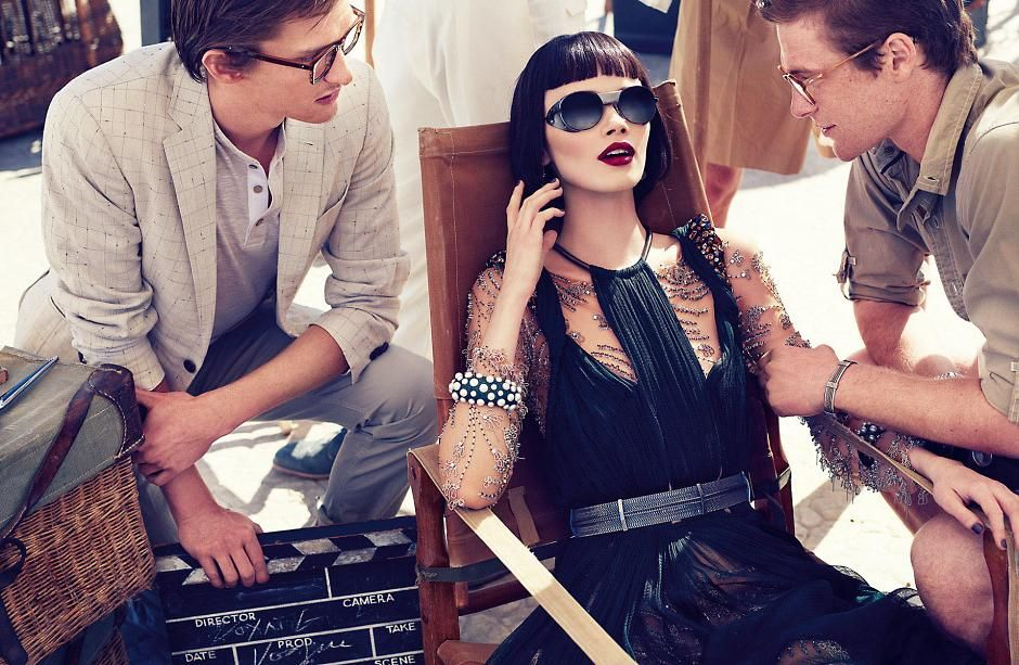 The roaring twenties. #fashion