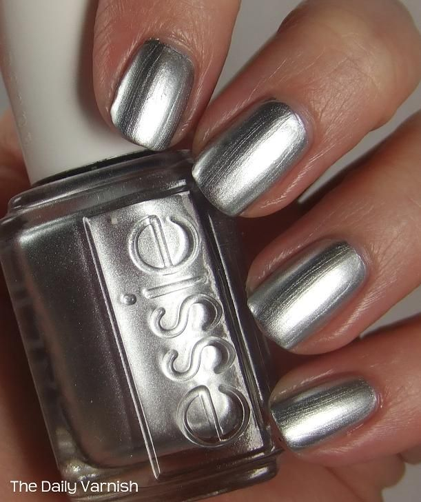 Chrome Nail Polish Opi | How to make your Essie Mirror Metallics ...