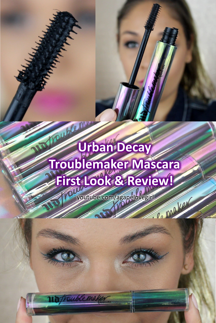 80c10b81421 The NEW @urbandecaycosmetics #TroubleMaker Mascara!💜 Claims to deliver  13.7x the