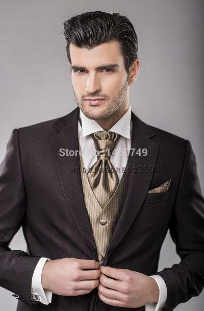 contoh warna jas pengantin pria modern terbaik 2017