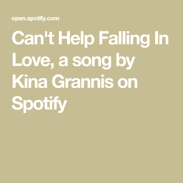 Wedding Music For Walking Down The Aisle: Can't Help Falling In Love By Kina Grannis
