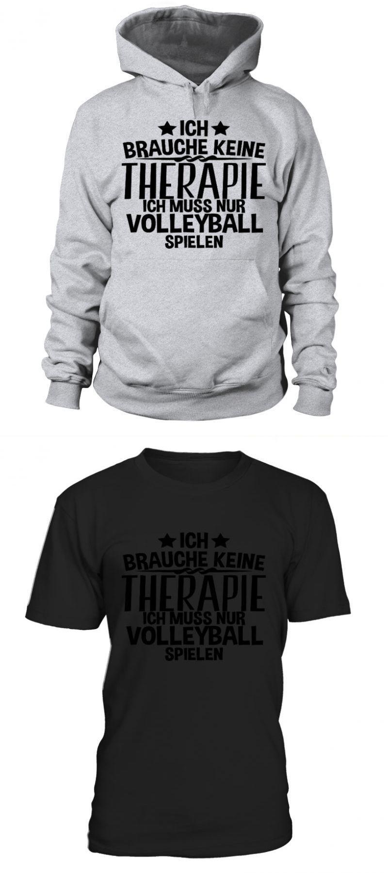 Brazil Volleyball T Shirt Ich Brauche Keine Therapie Volleyball Cute