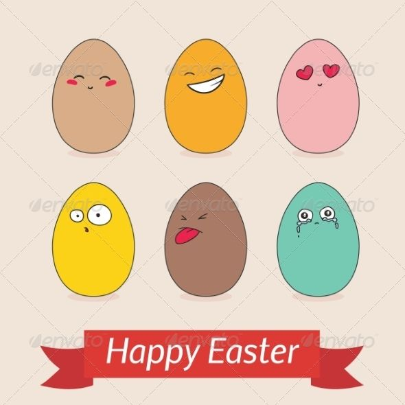 Happy Easter Card Template  Happy Easter Cards Easter Card And