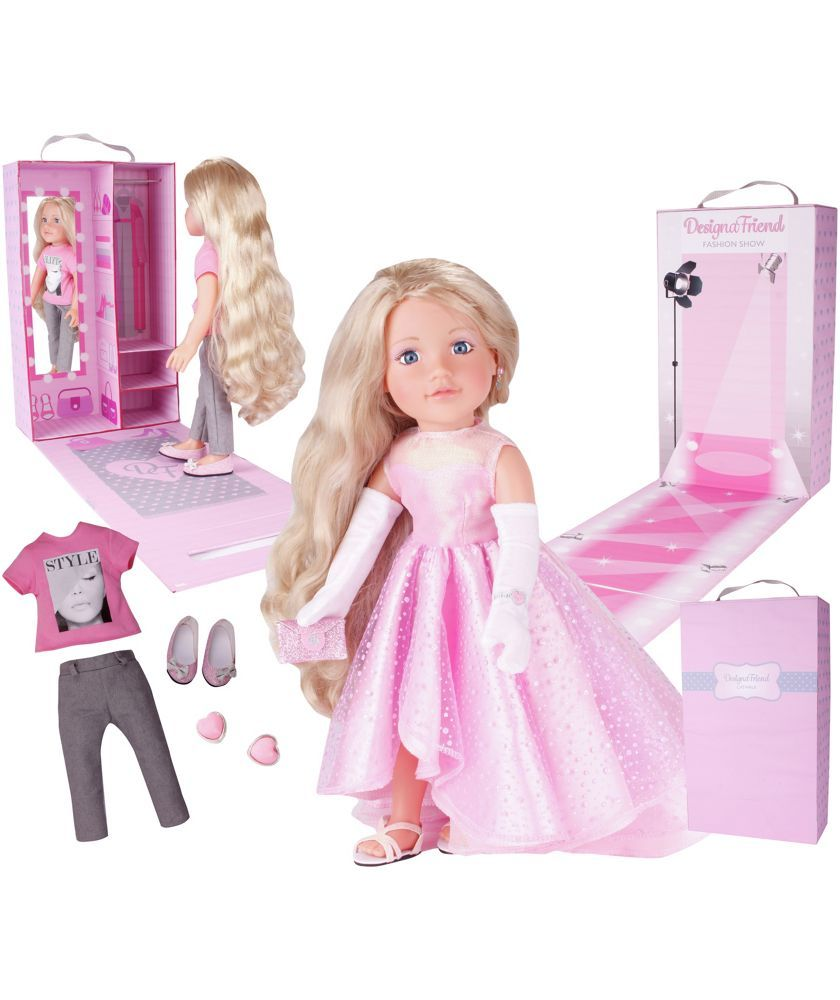 Dolls house at argos co uk your online shop for dolls houses dolls - Buy Chad Valley Designafriend Model Doll Tiffany At Argos Co Uk Your
