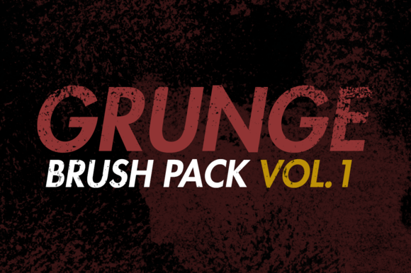 Grunge Brush Pack Vol.1 by Esquivel Type Foundry on @creativework247