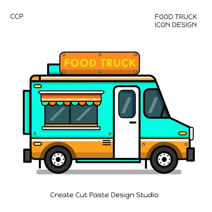 Pin By Nur Maisarah On Hi Icon Design Food Truck Design Food Truck