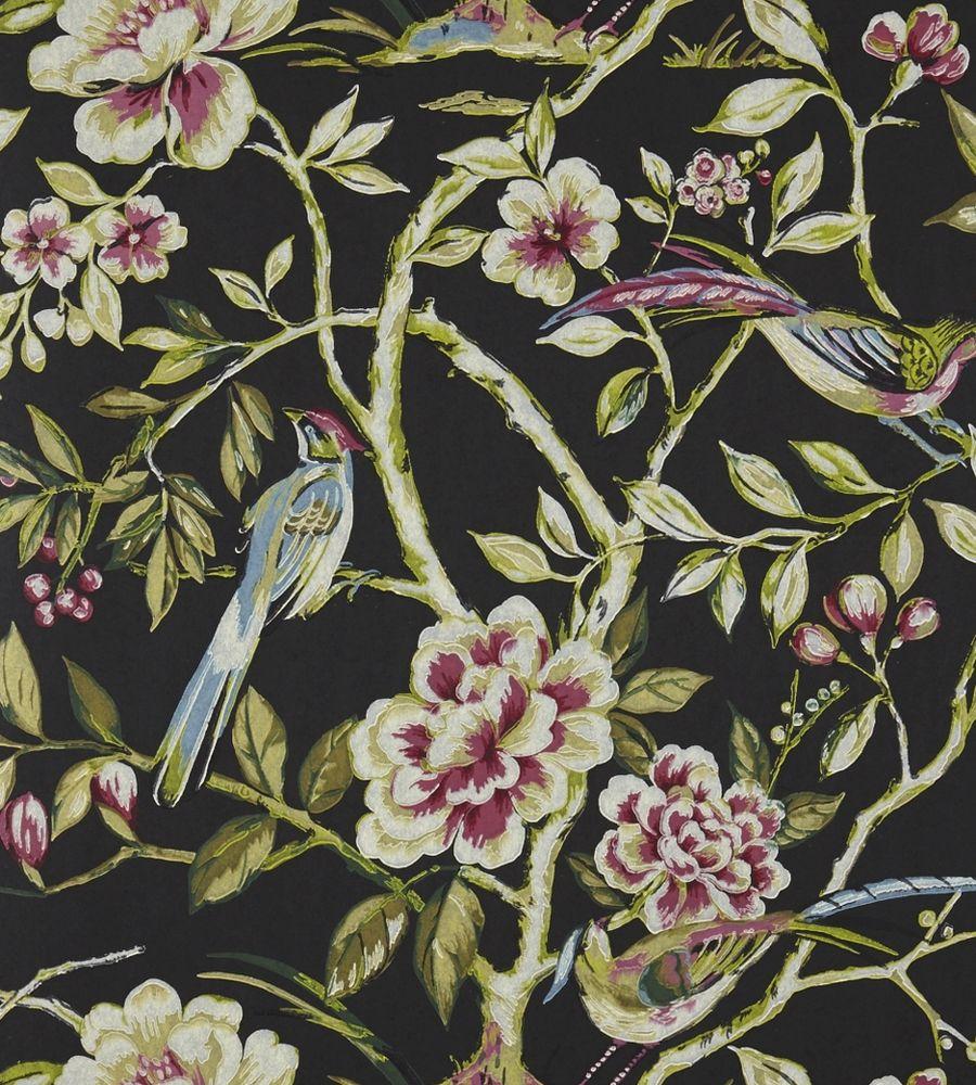 Lotus Blossom Wallpaper By Prestigious Textiles