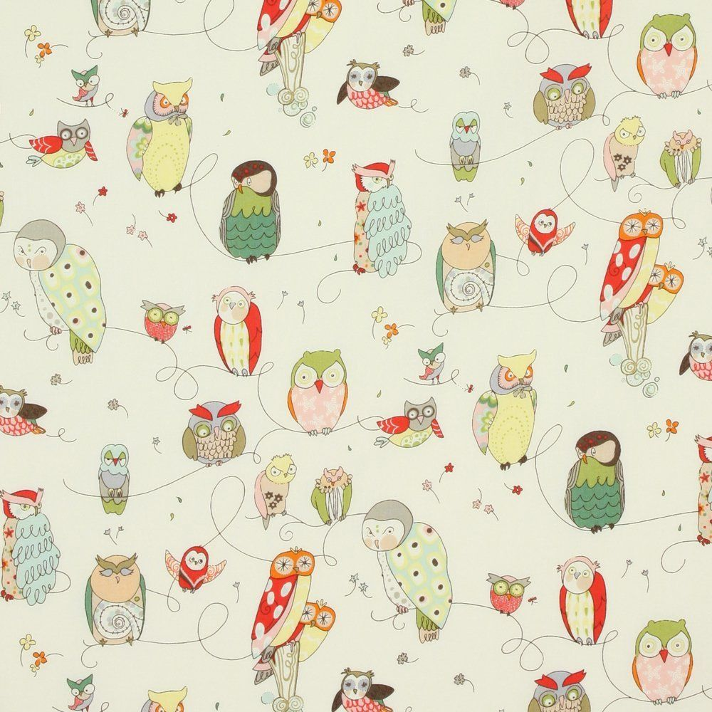 Amazon.com: Alexander Henry In the Kitchen Spotted Owl Natural, 44-inch (112cm) Wide Cotton Fabric Yardage: Arts, Crafts & Sewing