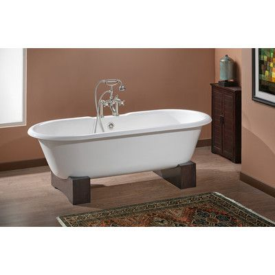 Cheviot Products Regal 61 X 31 Soaking Bathtub Cast Iron