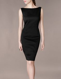 boat neck dress pattern free - Google Search