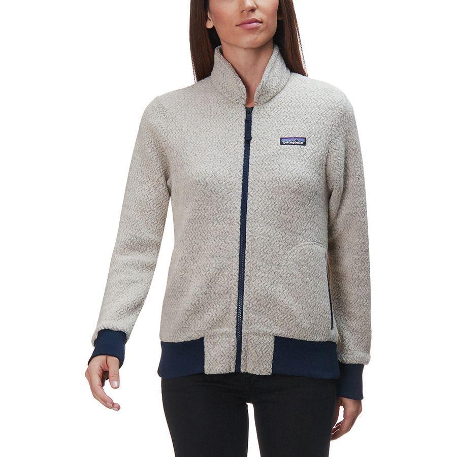 43408684fa775 Patagonia - Woolyester Fleece Jacket - Women s - Oatmeal Heather
