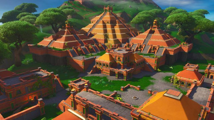 Fortnite Season 8 Map Changes New Locations Including Volcano Lazy Lagoon Sunny Steps And More Fortnite Intel Fortnite Background Gaming Wallpapers