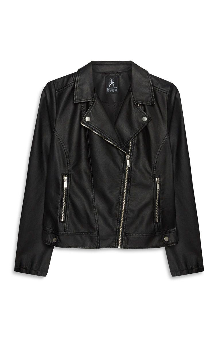 76ec64a23 Black Faux Leather Jacket | In My Closet in 2019 | Black faux ...