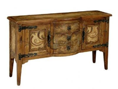 Charming Tuscan Style Buffet Table ...