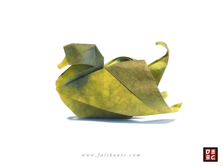 Photo of Origami Ente I Rudolf Deeg