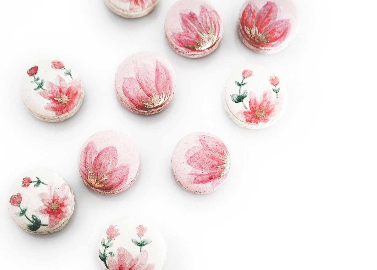 Photo of Tulum Inspired Macarons