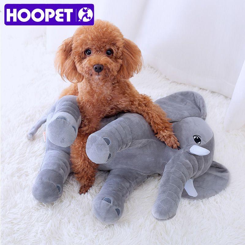 Hoopet Pet Dog Toy Puppy Short Plush Little Pig Cute Elephant Pet