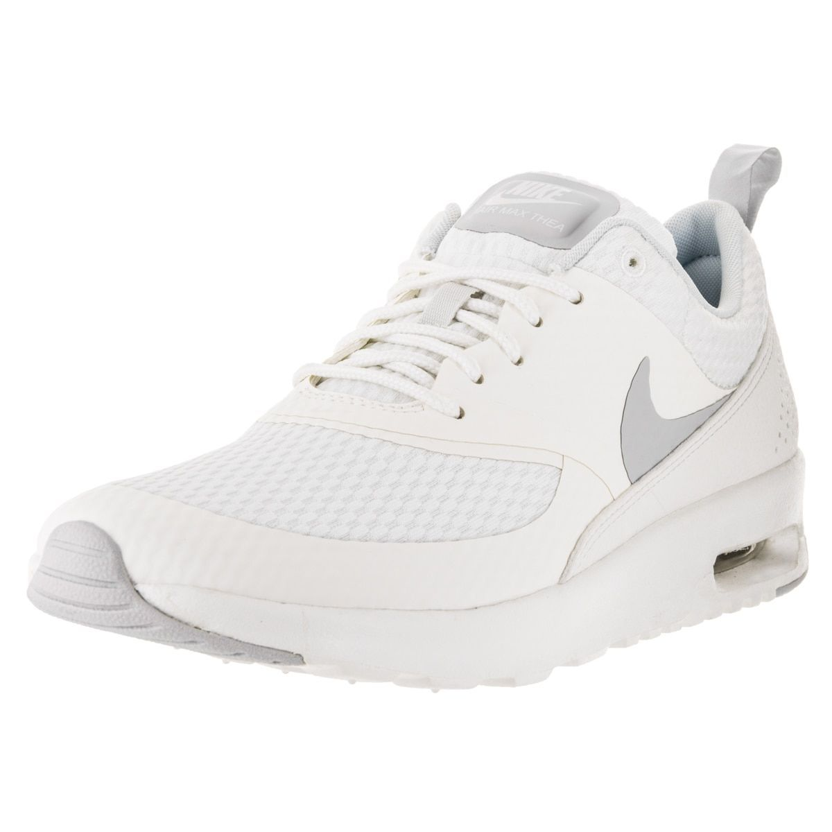 check out de977 34387 Nike Women s Air Max Thea TXT Summit  Pure Platinum Running Shoe