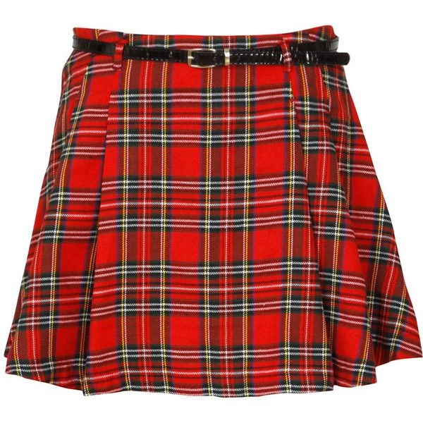 Red Tartan Pleated Skater Skirt (515.105 VND) ❤ liked on Polyvore featuring skirts, bottoms, plaid, circle skirt, knee length skater skirt, red skater skirt, plaid circle skirt and pleated circle skirt