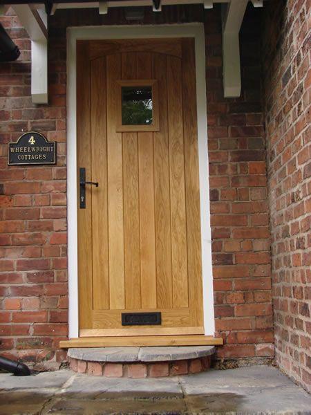 Front doors chester cheshire bespoke wooden doors for Oak exterior doors
