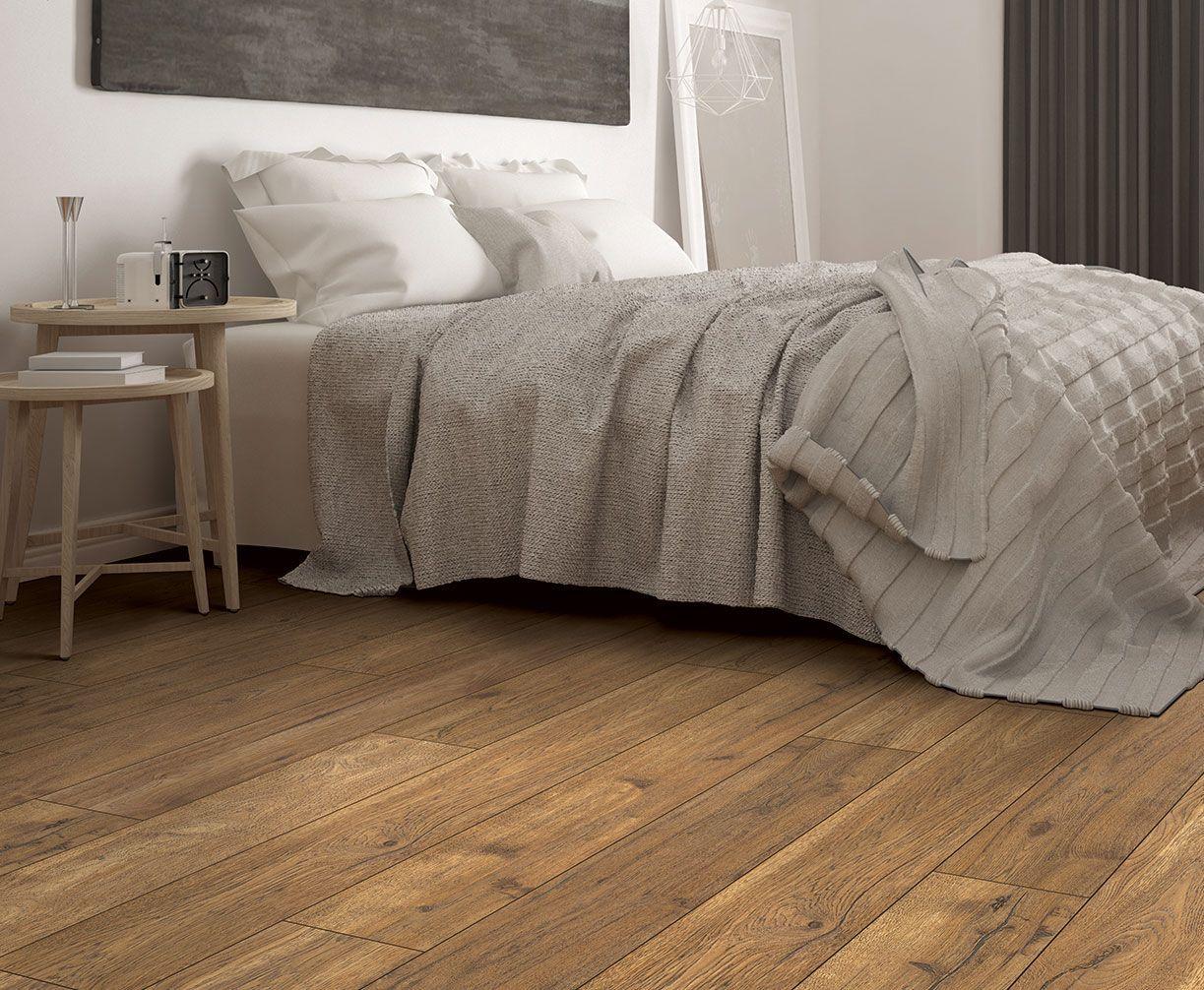 Piedmont Oak Has A Warm Amber Color With Undertones Of Golden Brown And Wider L Bedroom Laminate Flooring White Laminate Flooring Bedroom Oak Laminate Flooring
