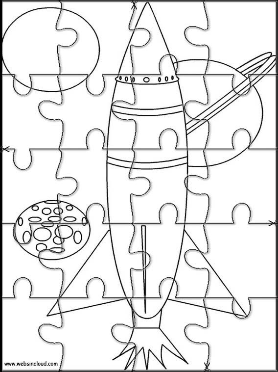 This is a picture of Obsessed Puzzle Coloring Pages