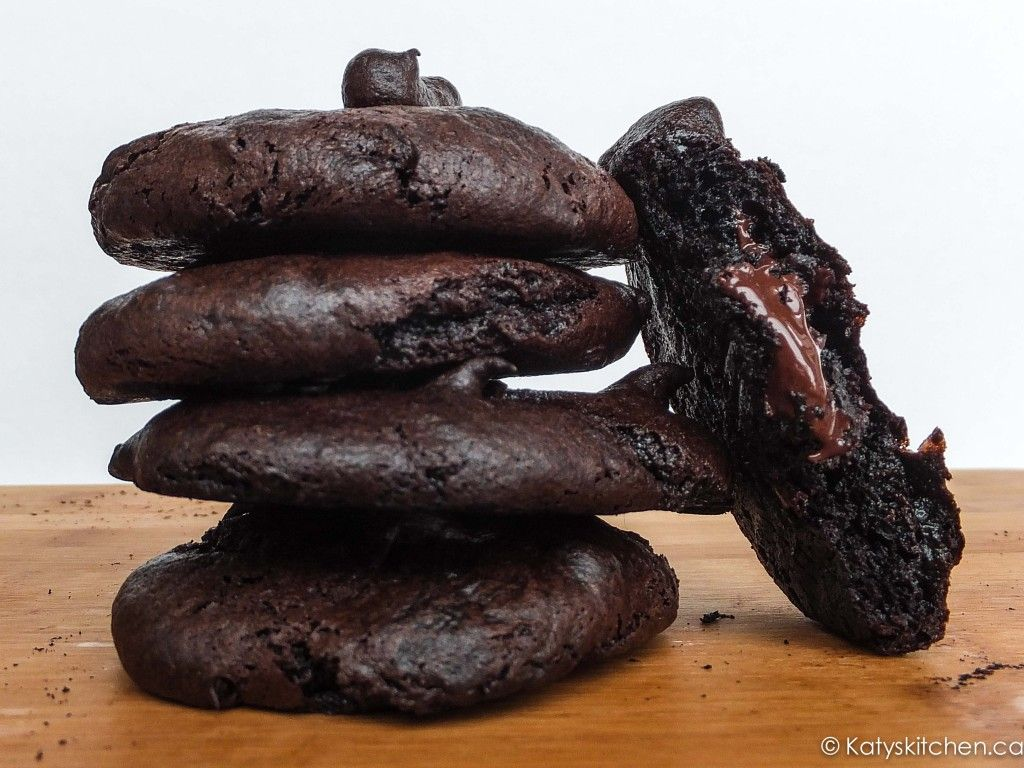 Flourless Double Chocolate Avocado Cookies ...uses one avocado...Linda note:  these are awesome!