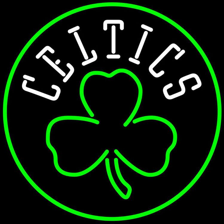 Boston Celtics Stencil Logo