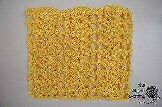Ravelry: Shell Blocks Dishcloth pattern by Amy Ramnarine
