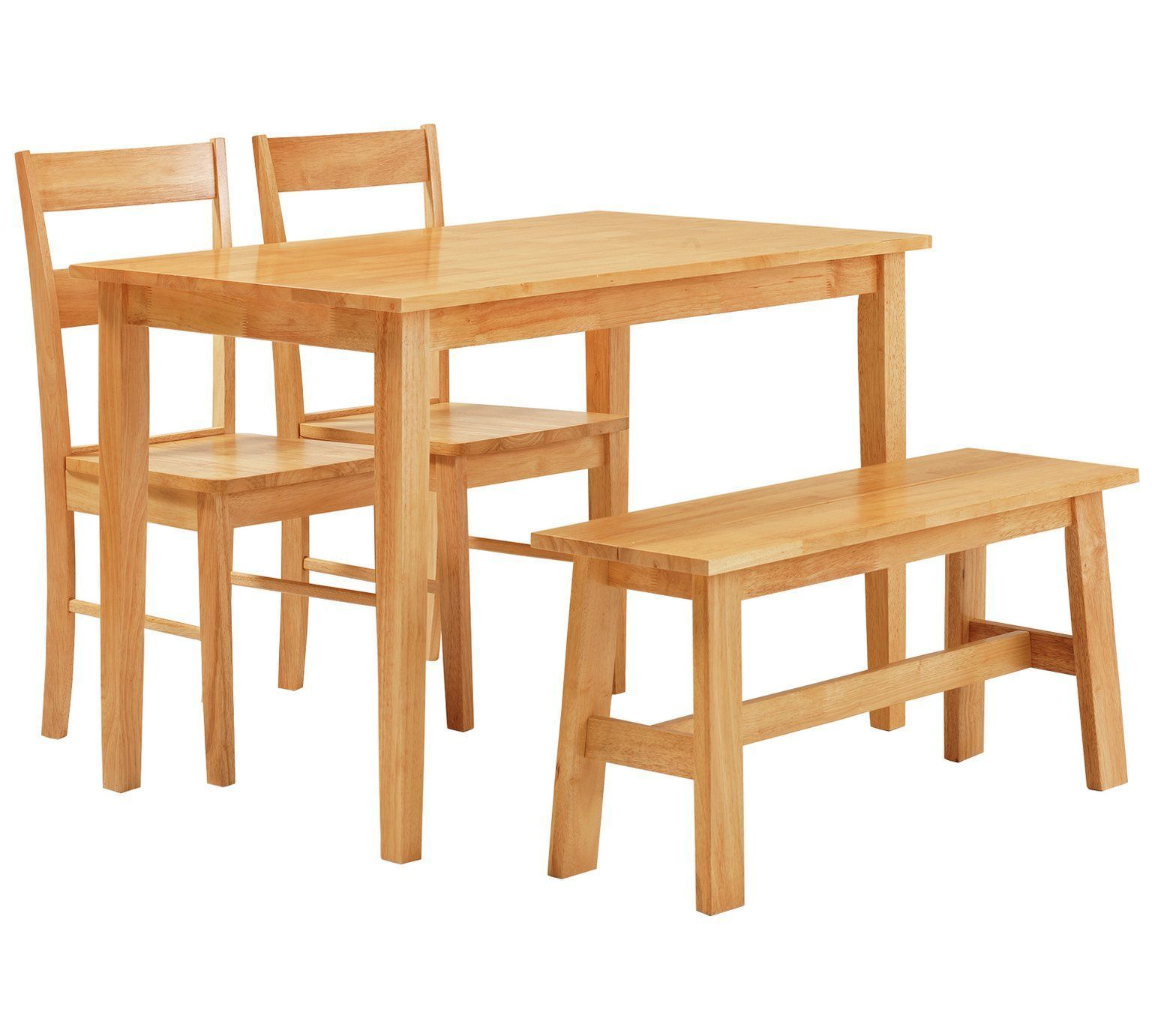 Buy Collection Chicago Dining Table, Bench & 2 Chairs