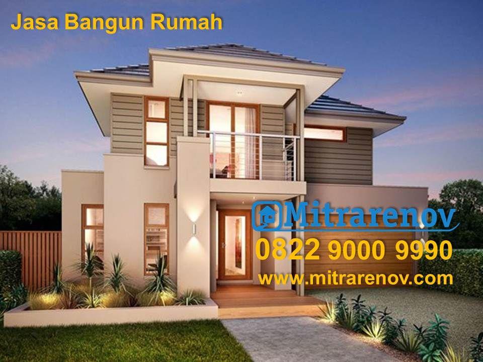 TelpWA    Jasa Bangun Rumah Murah Jakarta Bogor - Modern house jakarta