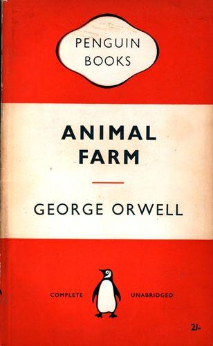 Animal Farm Penguin Books 1955 Front Penguin Books Penguin Books Covers Animal Books