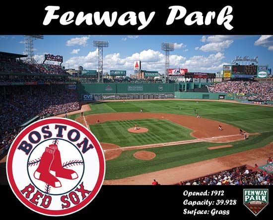 Boston Red Sox Fenway Park Fenway Park The Oldest Major League Baseball Stadium Fenway Park Baseball Wallpaper Baseball Park