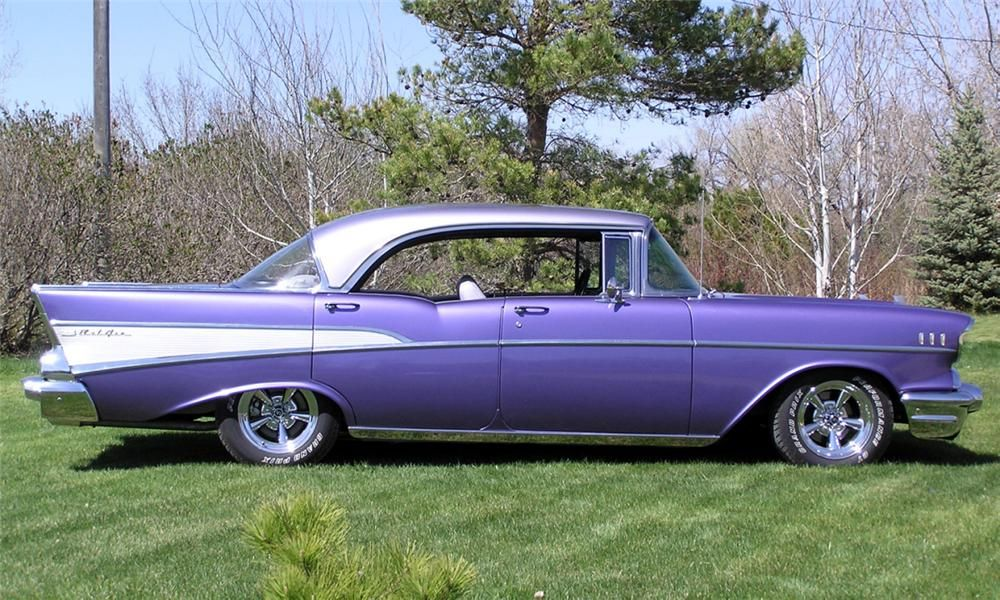 1957 CHEVROLET BEL AIR CUSTOM 4 DOOR HARDTOP - 16267- Barrett-Jackson Auction Company - World\u0027s Greatest Collector Car Auctions & 1957 CHEVROLET BEL AIR Lot 315.1 | Barrett-Jackson Auction Company ...