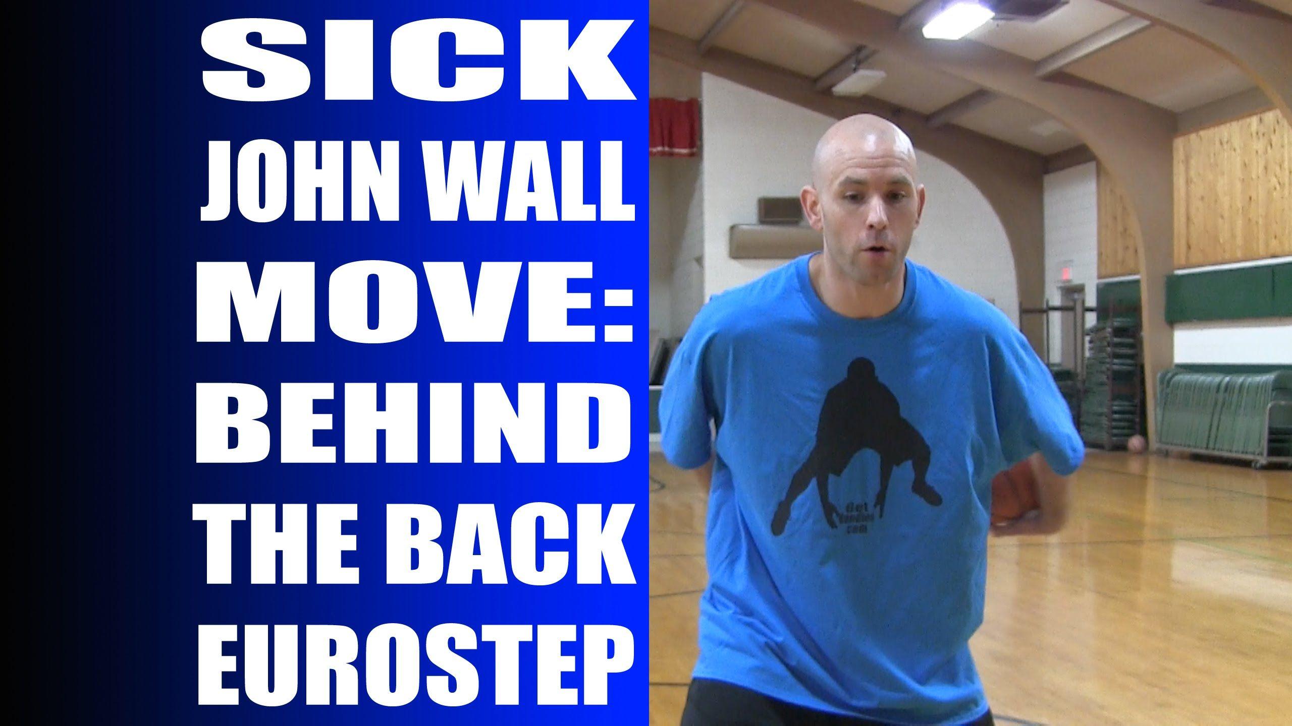 Sick John Wall Basketball Move Behind The Back Eurostep Tutorial