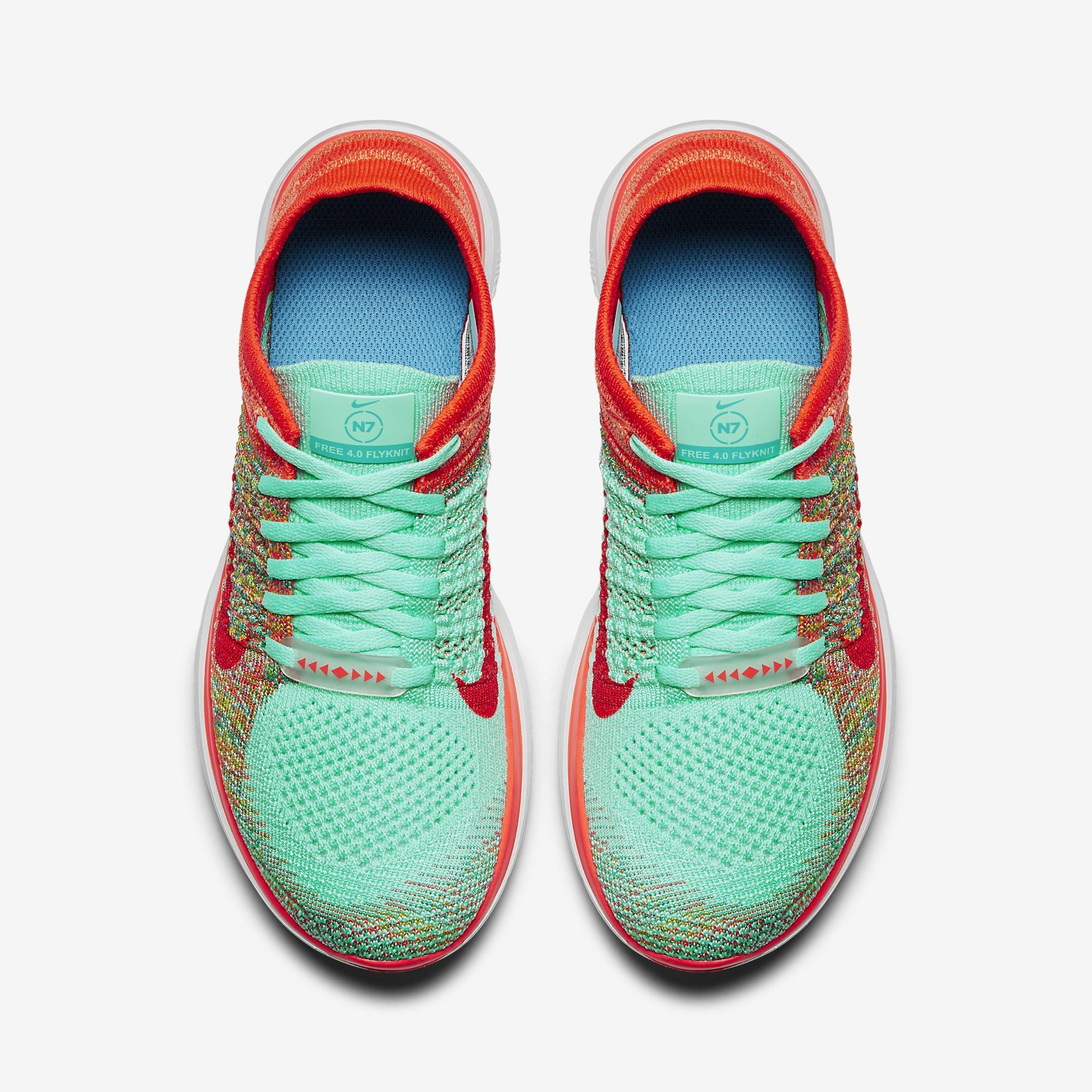 best sneakers b9719 e067f ... Earn cash back on these colorful Nike Free N7 4.0 Flyknit running shoes  with StuffDOT!