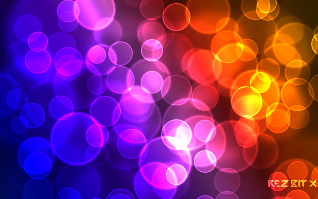 Colorful Bubble Hd Desktop Wallpaper Widescreen High