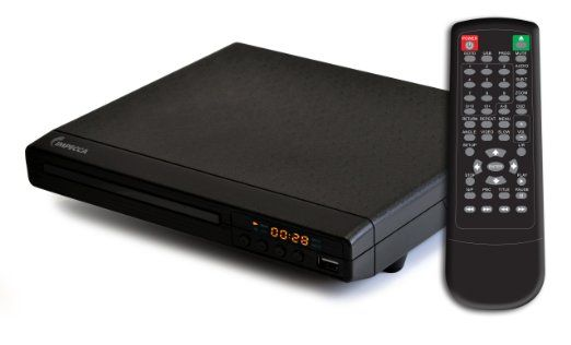 amazon Impecca DVHP9112 Multi Zone Home DVD Player With