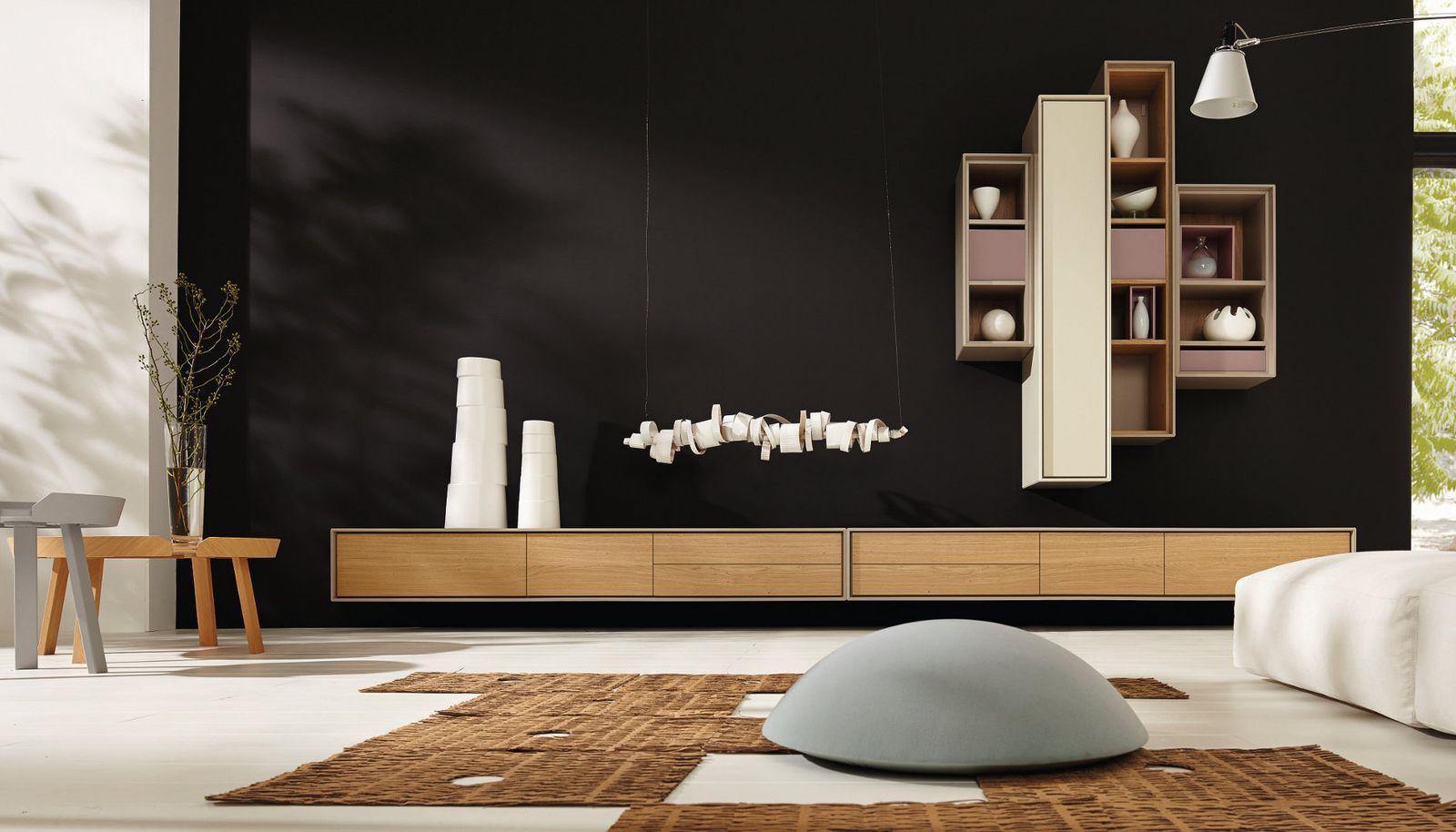 Living: hülsta - Die Möbelmarke - Scopia  Wohnwand modern