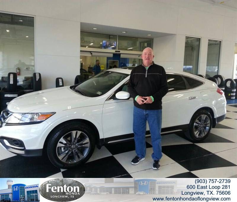 Congratulations To Keith Bobo Jr On Your Purchase From Alton McAlister At Fenton  Honda Of Longview!