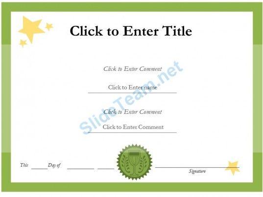 Certificate Templates Certifi