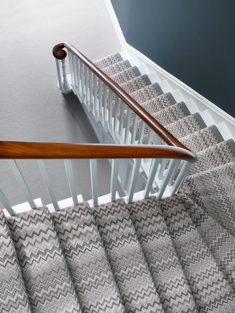 Best Image Result For Grey Zig Zag Carpet Stripe Stairs Home Decor In 2019 Carpet Stairs Stairs 400 x 300