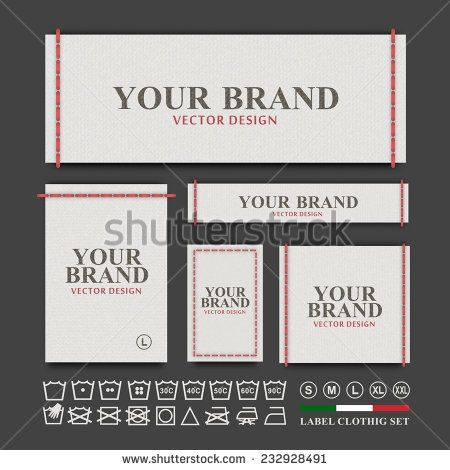 clothing label template images galleries with a bite. Black Bedroom Furniture Sets. Home Design Ideas