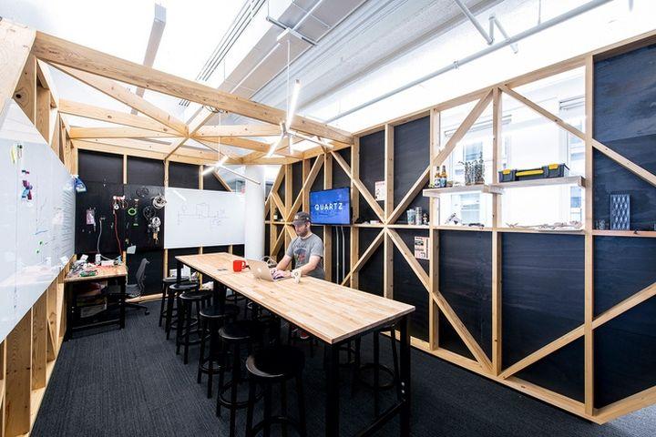 quartz office by desai chia architecture new york city retail