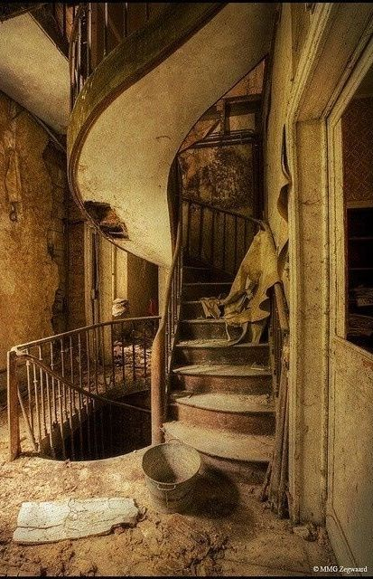 Abandoned stairs ..rh