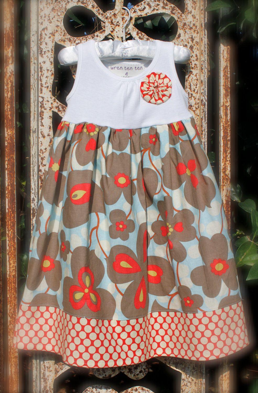 Girl's tank dress, very cute!