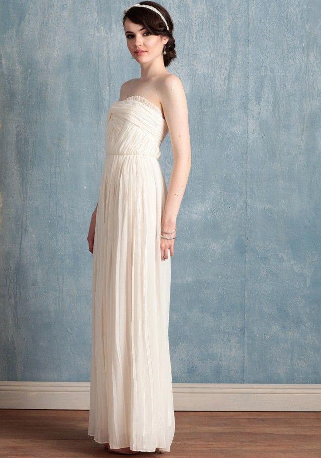 Isla | Grecian Gowns And Grecian Wedding Dresses | Ruche Bridal ...