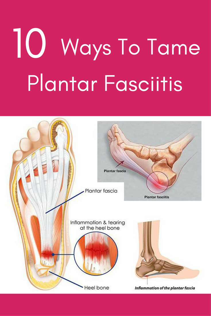 One in ten people will suffer from Plantar Fasciitis at some point