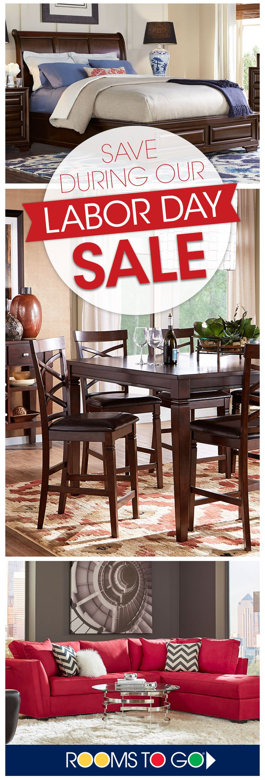 Visit Rooms To Go Now During Our Labor Day Sale And Save On Our